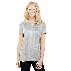 Oasis - Wrap Back Foil Tee