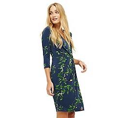 Oasis - Floral Vine Wrap Dress