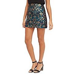 Oasis - Warner Jacquard Mini Skirt