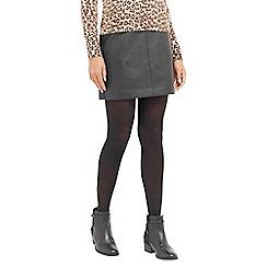 Oasis - Faux Leather Mini Skirt