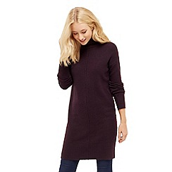 Oasis - High Neck Sweater Dress