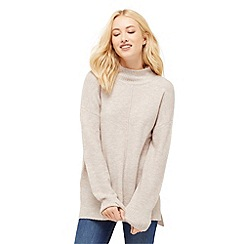Oasis - High Neck Knitted Top