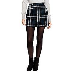 Oasis - Marley Boucle Check Mini Skirt