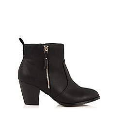 Oasis - Black Abigail ankle boots