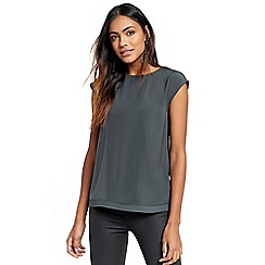Oasis - Soft wrap back top