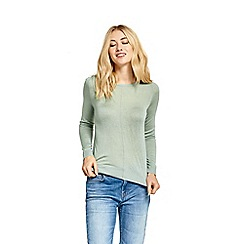 Oasis - Pale green fine knitted jumper