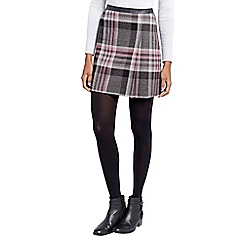 Oasis - Soft check poppy kilt