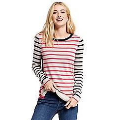 Oasis - Double stripe button knit