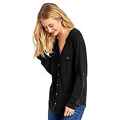 Oasis - Cupro sleeved utility shirt