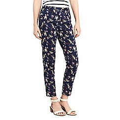 Oasis - Hummingbird print trousers