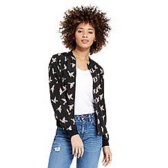 Oasis - Bird print jacket
