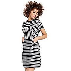 Oasis - Cutabout stripe shift dress