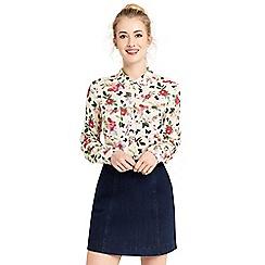 Oasis - Floral-filled shirt