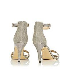 Oasis - Gold estella peep-toe heels
