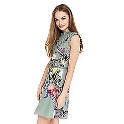 Oasis - Madison placement skater dress