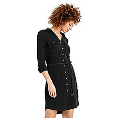 Oasis - Textured shirt dress