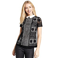 Oasis - Lace Collared Tee