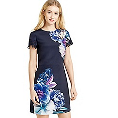 Oasis - Wild floral shift dress