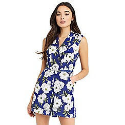 Oasis - Wild floral playsuit