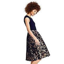 Oasis - Bardot organza midi dress