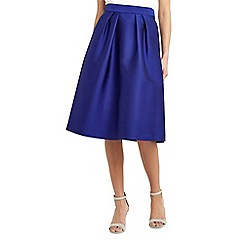 Oasis - Satin twill midi skirt