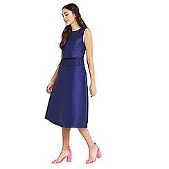 Oasis - 2 in 1 lace trim midi dress