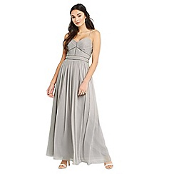 Oasis - Trimmed chiffon maxi dress