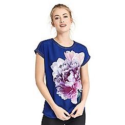 Oasis - Digital floral dream print t-shirt