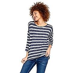 Oasis - Stripe warmwear drop sleeve top