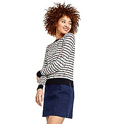 Oasis - Printed stripe knit