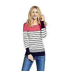 Oasis - Stripe colour block knit