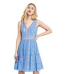 Oasis - Lace skater dress