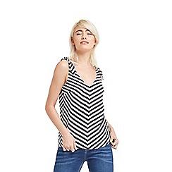Oasis - Stripe tie vest