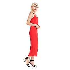 Oasis - Plain midi dress