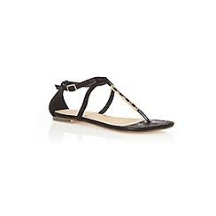 Oasis - Taffy metal detail sandals