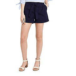 Oasis - Casual tie belt shorts