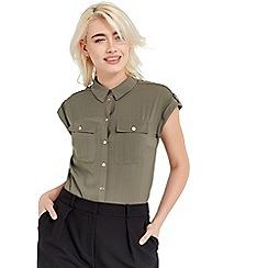 Oasis - Short sleeve soft safari shirt