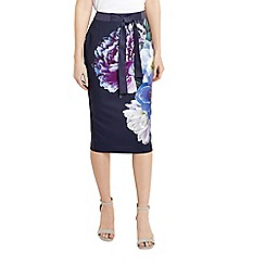 Oasis - Georgia floral skirt
