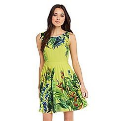 Oasis - Tropical placement sundress