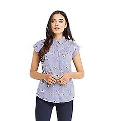 Oasis - Stripe bird shirt