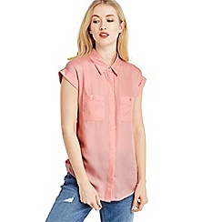 Oasis - Short sleeve cotton shirt