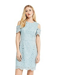 Oasis - Lace cold shoulder dress