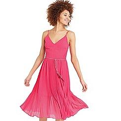 Oasis - Lace pleat midi dress