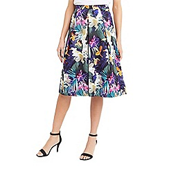 Oasis - Tropical midi skirt