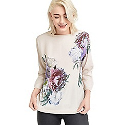 Oasis - Wild floral knit