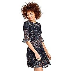 Oasis - Daisy print dress