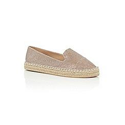 Oasis - Silver 'esme' espadrille sandal