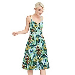 Oasis - Tropical cuba midi dress