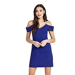 Oasis - Bardot cold shoulder dress