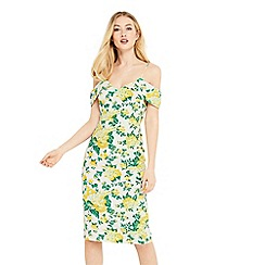 Oasis - Summer bloom pencil dress